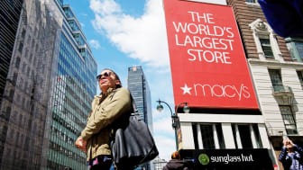 NEW YORK, NY - MAY 12: A view of Macy's flagship store, May 12, 2017 in the Herald Square neighborhood in New York City. The U.S. Commerce Department says retail sales rose 0.4 percent in Apr