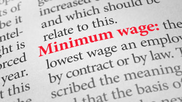 """picture of """"minimum wage"""" in the dictionary"""