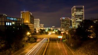 Richmond, Virginia At Night