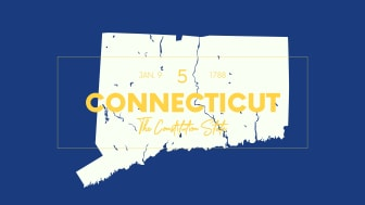 picture of Connecticut with state nickname