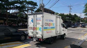 A Coupang truck