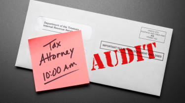 A letter about a tax audit.