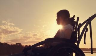 Teenage Girl In Wheelchair
