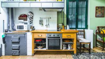 Mismatched kitchen appliances