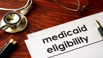 picture of a medicaid eligibility form