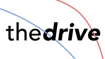 Logo for The Drive podcast