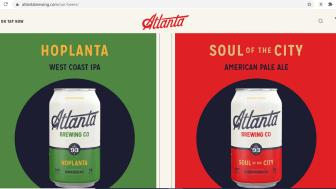 Screenshot of AtlantaBrewing.com