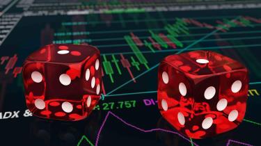dice gambling photo