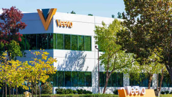 Pleasanton, California, USA - 2019 : Veeva Systems sign near cloud-computing company focused on pharmaceutical and life sciences industry applications