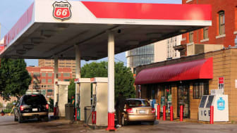 Route 66 gas station in Missouri