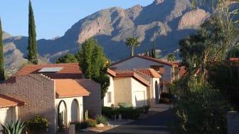 A housing subdivision in Arizona