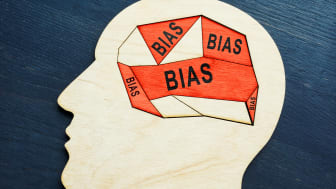 """Brain filled with the word """"bias."""""""