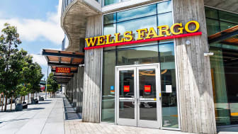 A Wells Fargo bank branch