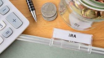 Picture of IRA near a calculator