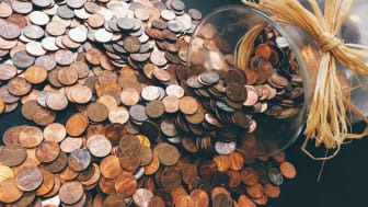 Photo of pile of pennies