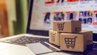 e-commerce shopping concept