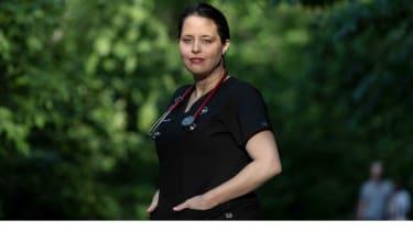 Leah Gordon, 43,  is a nurse anesthetist in Hugo, Minn.