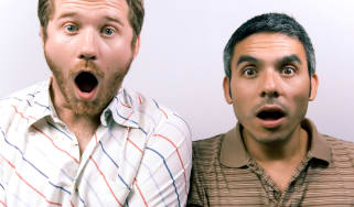 picture of two guys with shocked and surprised looks on their faces