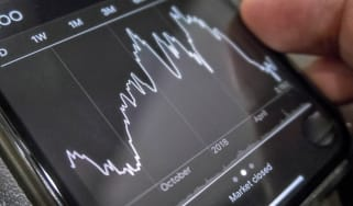 Monitoring stock market and trading performances on smart device or mobile phone