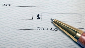 image of a check