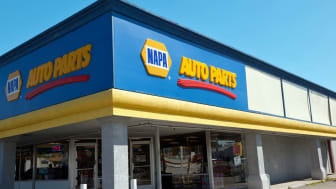 "Sacramento, California, USA - April 6, 2011: Napa Auto Parts store on Fulton Avenue in Sacramento, California. More than 80 years ago, the National Automotive Parts Association (""NAPA"") was c"