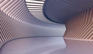 Architektur, modern, Sonnenschein, Innenansicht, Tageslicht, ohne Personen, Raum, Halle, Vorraum, moderne Architektur, leer, Schatten, sonnig, 3D Rendering, hell, Niemand, großzügig, digital