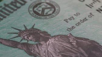 A federal check
