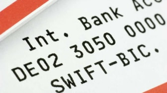 picture of international bank account number