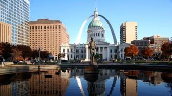 St. Louis, Missouri downtown