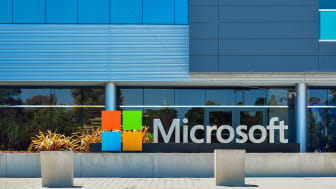Mountain View, CA, USA - Sept. 4, 2016: Microsoft Silicon Valley Center. Microsoft SVC is the software giant's presence in the Silicon Valley of California.