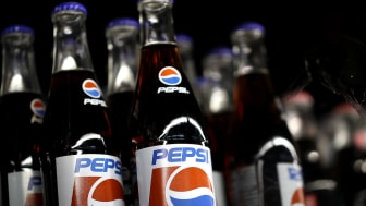 SAN RAFAEL, CA - JULY 11:Bottles of Pepsi soda are displayed on a shelf at Santa Venetia Market on July 11, 2017 in San Rafael, California. PepsiCo reported a better-than-expected second quar