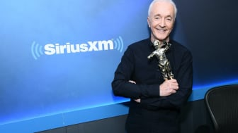 NEW YORK, NEW YORK - MARCH 11: (EXCLUSIVE COVERAGE) Anthony Daniels visits SiriusXM at SiriusXM Studios on March 11, 2020 in New York City. (Photo by Jamie McCarthy/Getty Images)