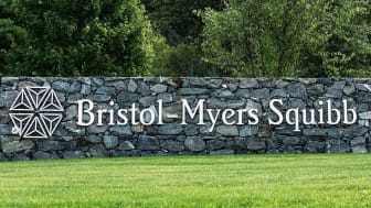 A Bristol-Myers Squibb sign