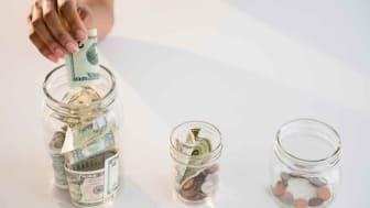 Photo of money in jars