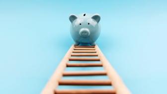 Photo illustration of piggy bank