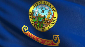 picture of Idaho flag