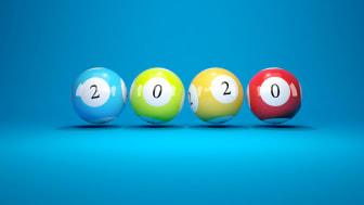 Lottery balls.