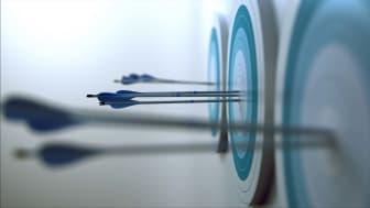 arrows hitting bullseye