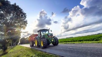 A Deere tractor