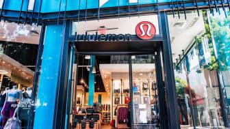 August 20, 2019 Palo Alto / CA / USA - Lululemon store entrance