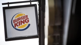 BATH, ENGLAND - FEBRUARY 19:A branch of Burger King is pictured on February 19, 2018 in Bath, England. The number of takeaway restaurants has increased significantly in the last few years and
