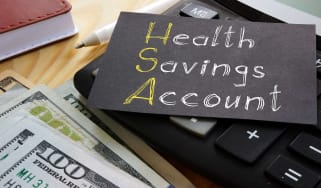 picture of note saying health savings account