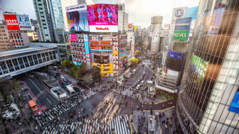 photo of Tokyo downtown