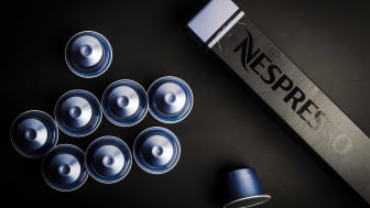 A set of Nespresso pods