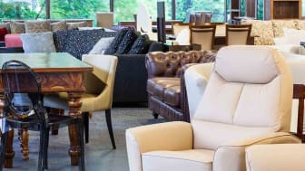 A shop with stylish and classy furniture pieces