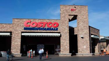 A Costco store front in Summerlin, Las Vegas.