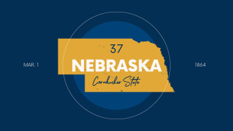 picture of Nebraska with state nickname