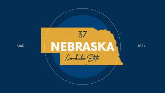 picture of Nebraska with state nickname