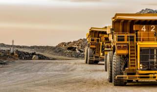 mining vehicles