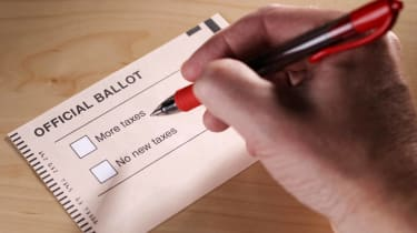 State tax questions on official ballot.
